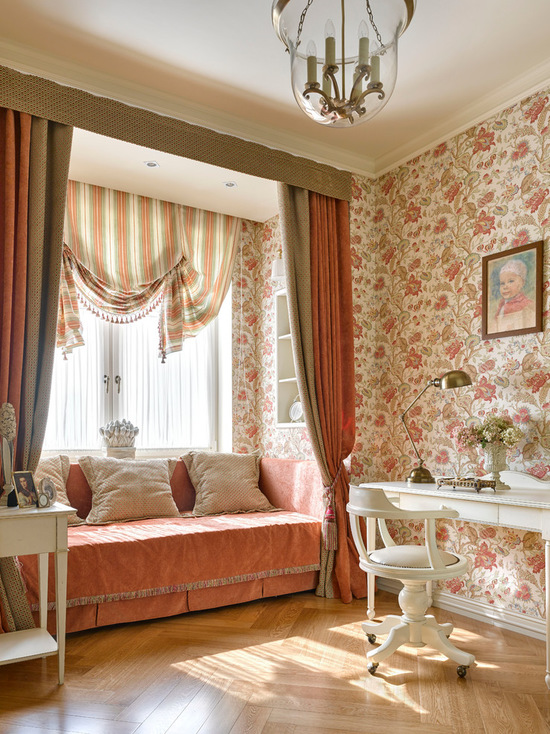 подбор штор под цвет стен и мебели