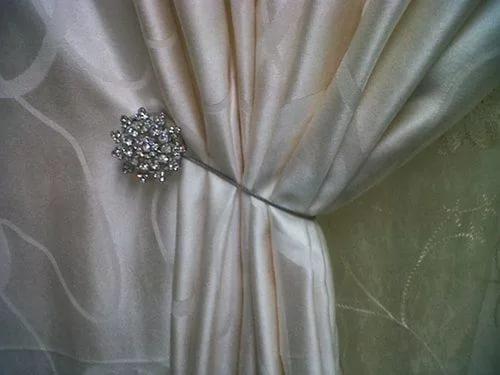 магнитные держатель для штор из кристаллов