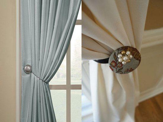 магнитные держатели для штор