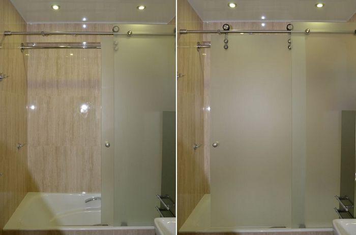 ширма для ванной из поликарбоната