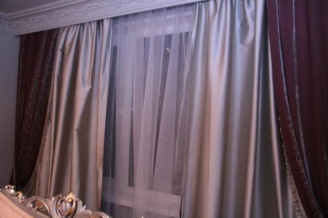 шторы из тафты