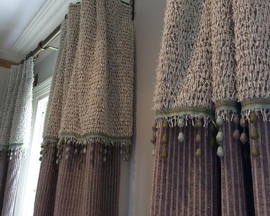 шторы из шерстяной ткани