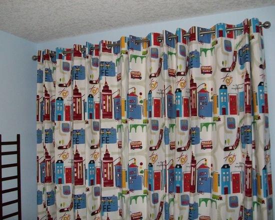 шторы с рисунком для мальчика