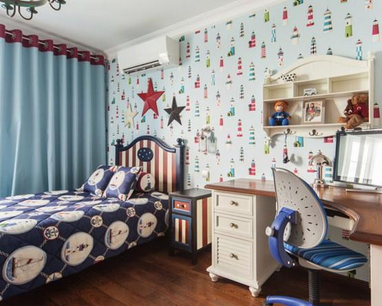детские шторы в морском стиле