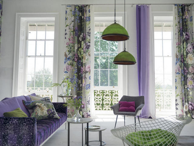 шторы для лета в гостиной