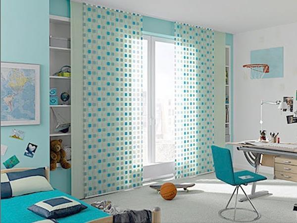 летние занавески для детской комнаты