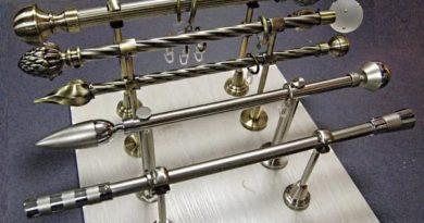 карнизы для штор из металла