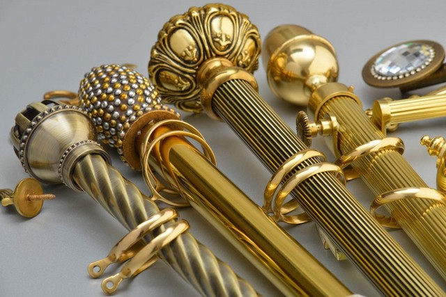 декоративные наконечники для металлических карнизов