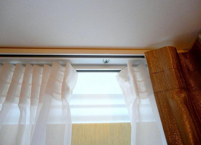 потолочный профиль для штор