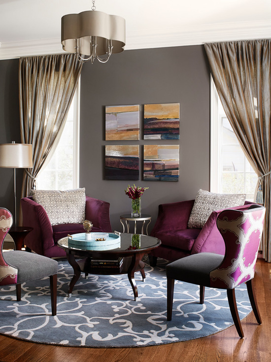 простая расцветка портер в ярком дизайне интерерьера гостиной
