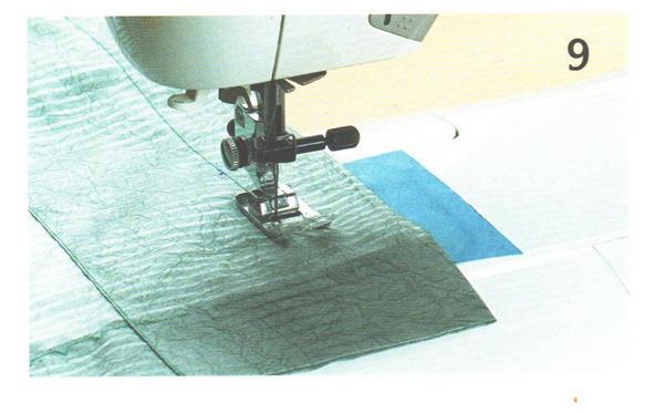 прострочка кулиски на швейной машине