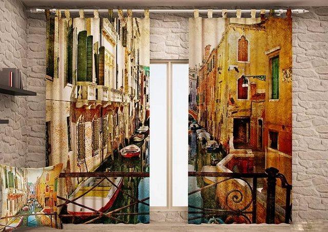 шторы с 3д рисунком