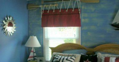 иорской стиль в дизайне штор
