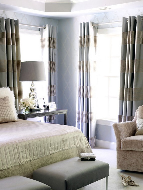 плотные атласные ночные шторы