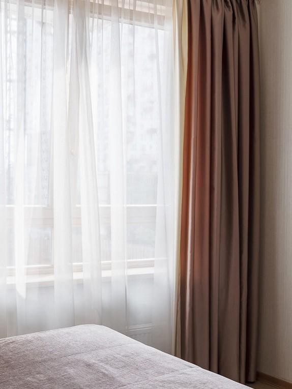 ночные шторы с тюлем