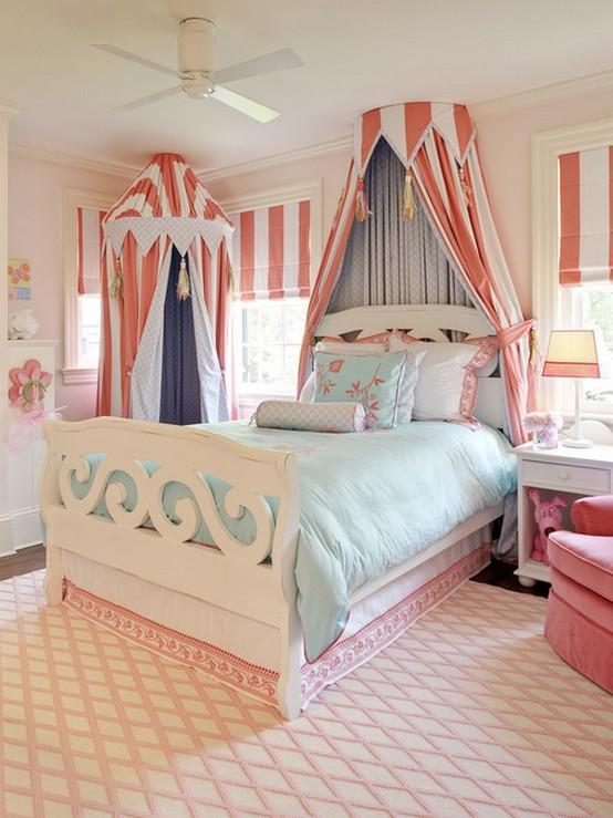 круглый полог для кровати