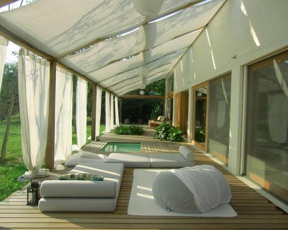 шторы для крытой веранды