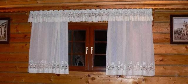 Занавески для деревенского дома