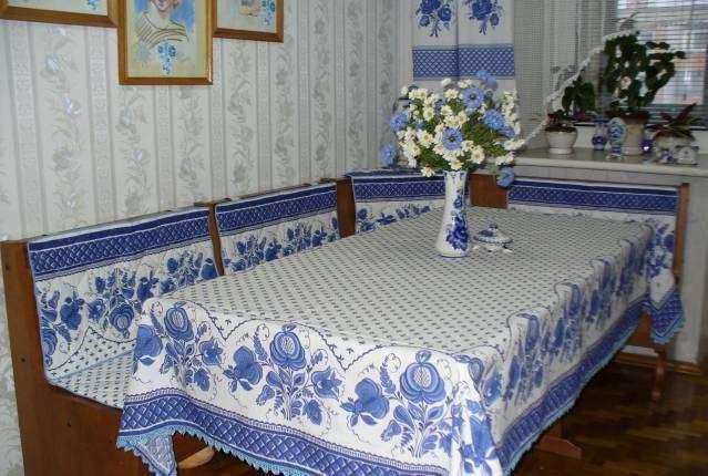 текстиль и шторы гжель