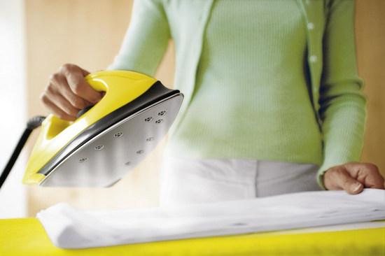 как правильно гладить тюль