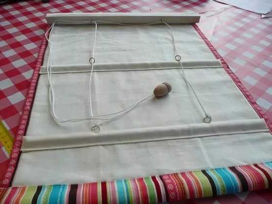 механиз подъема для римской шторы