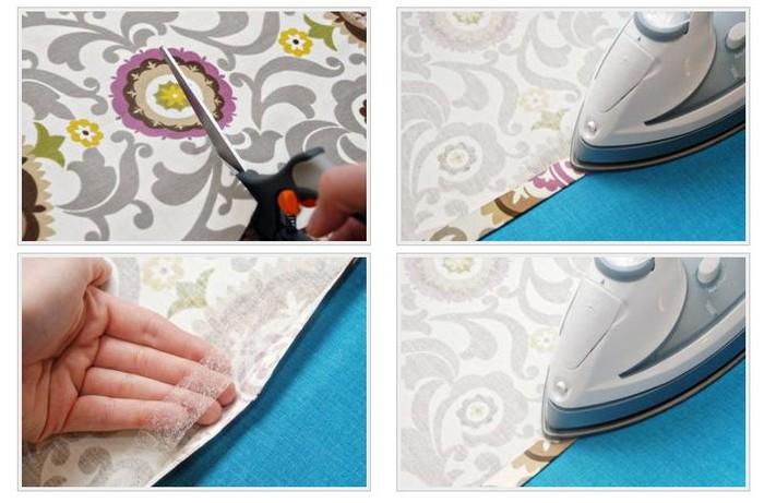 обработка срезов ткани с помощью паутинки