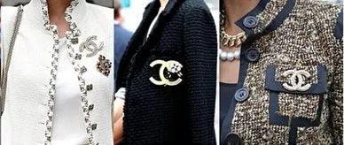 наряды из рогожки от Коко Шанель