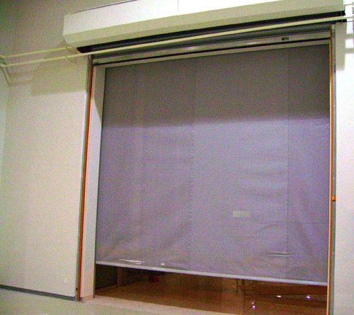 противопожарная штора-экран