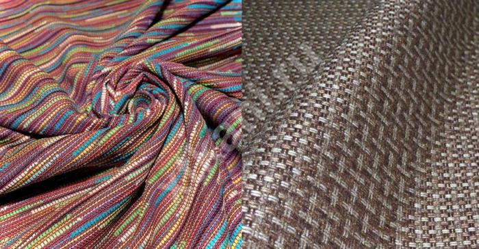 расцветка ткани рогожка