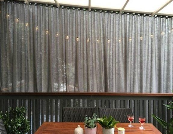 уличные шторы для веранды