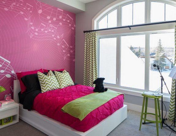 шторы под розовые обои и стены