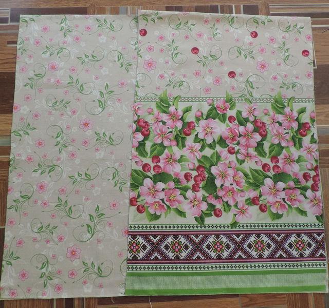 расцветка ткани рогожка в стиле прованс