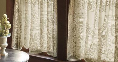 шторы в винтажном стиле