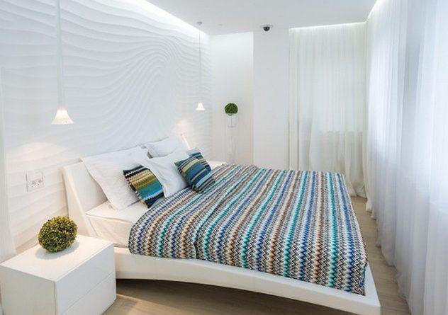 280 фото штор к белым обоям в спальне