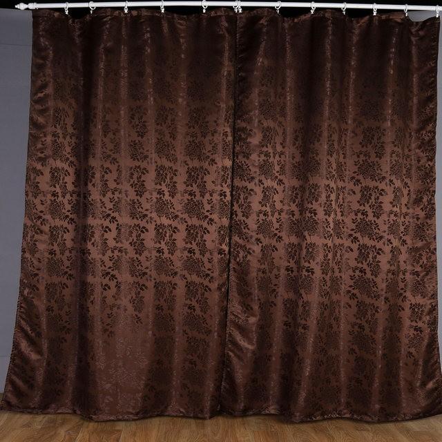 шторы венге в спальне