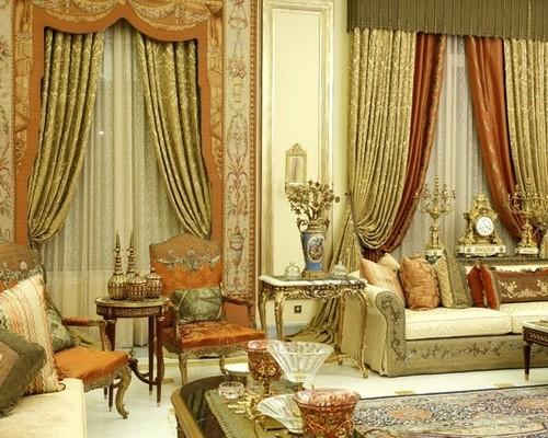 интерьер и текстиль в стиле ампир