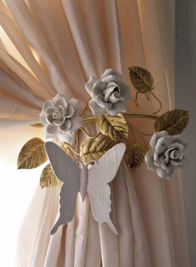 держатель для штор в форме бабочки для детской спальни