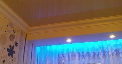 подсветка штор светодиодами