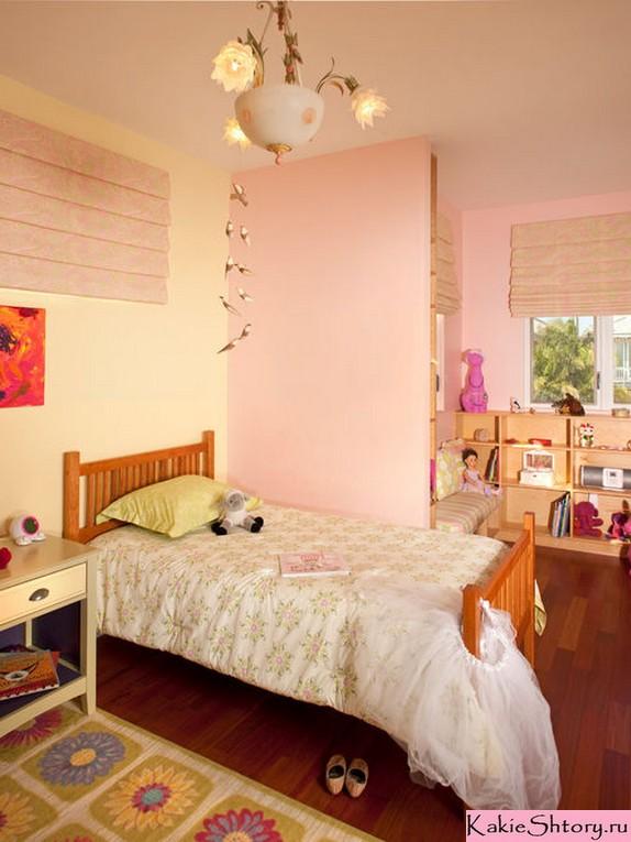 шторы под персиковые стены