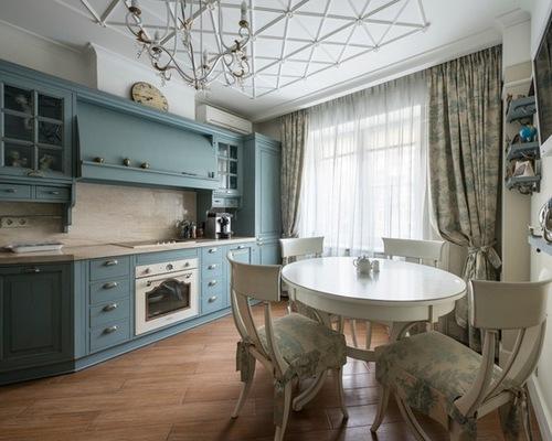 дизайн занавесок для кухни