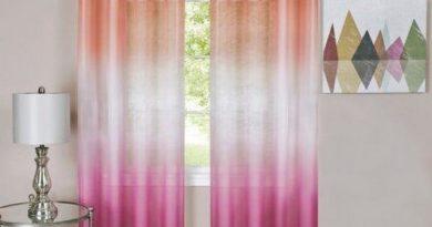 шторы с переходом цвета