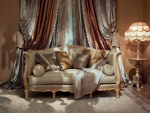 элитные шторы в итальянском стиле