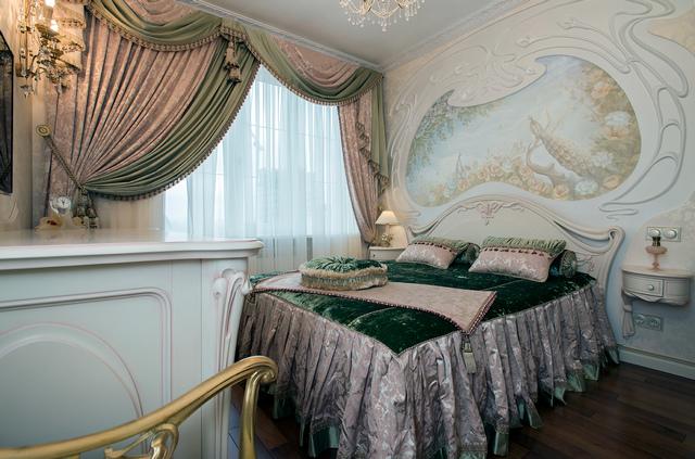 элитные классические шторы