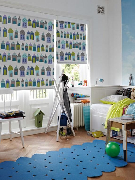 рулонные шторы для детской