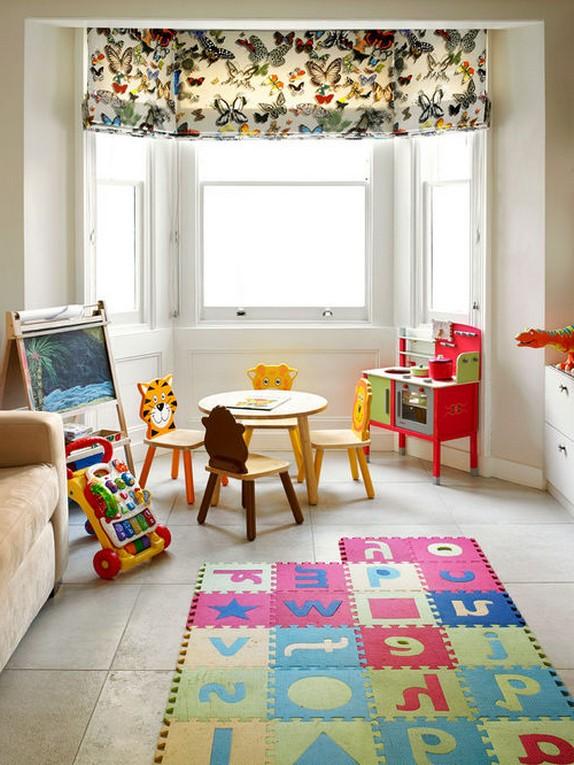 шторы с рисунком в детскую
