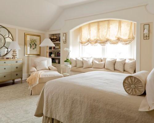 подъемная австрийская штора для спальни
