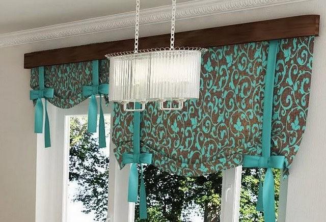 подъемные шторы на лентах