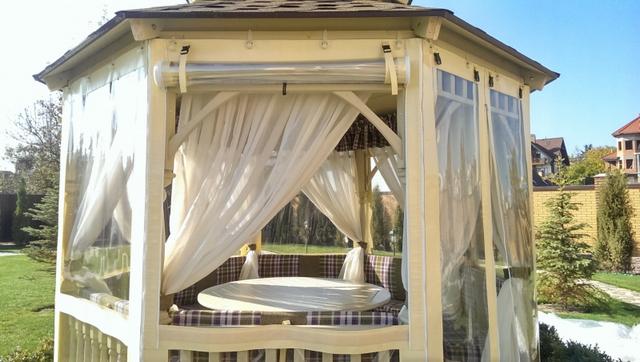прозрачные пвх шторы для беседки
