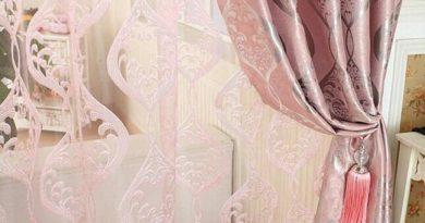 Дизайн розового тюля в интерьере — советы с фото