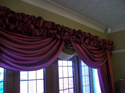 шторы с буфами